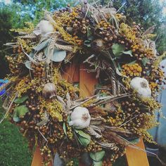 Wreath naturaly