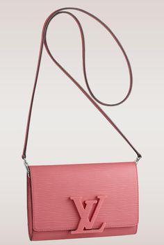 Louis Vuitton Louise Epi Shoulder Bag $1,900 via Louis Vuitton, has removable strap for crossbody wear
