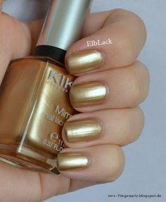 Kiko 628 Gold (Mirror Nail Lacquer)
