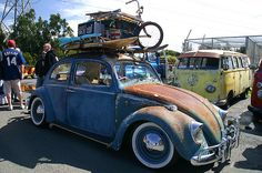 volkswagons and bikes