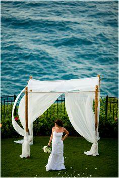 Sheraton Maui Wedding : Moana Lawn and Lounge #sheratonmauiweddings