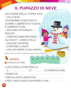 Italian Words, Preschool Crafts, Kids And Parenting, Language, Luigi, Winter Time, Learning Italian, Speech Language Therapy, Classroom