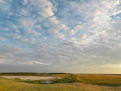 September Sunset at Coskata Pond