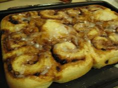 nannykim's recipes: Cinnamon buns for Christmas day--our favorite