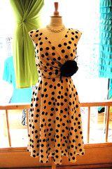 Michaela Louisa polka dot dress spring/summer 2012. Want!