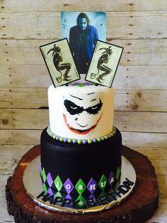 Pin By PastelArt On Pasteles De Deportes Pinterest Golf And Cake - Dark knight birthday cake