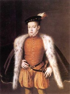 Portrait du prince Don Carlos, Alonso Sánchez Coello