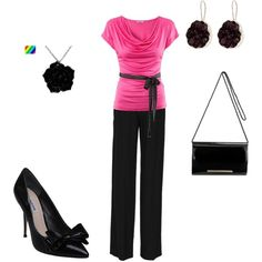Pink and Black http://media-cache9.pinterest.com/upload/20195898299028487_oUo8LKEa_f.jpg toddjenn99 i need to find this outfit