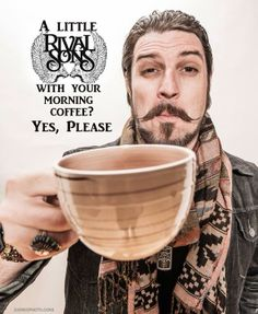 Coffee and Rival Sons anyone?