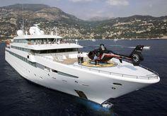 Mega Yacht.