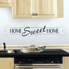 Home Sweet Home Peel and Stick Wall Decals Wall Decal at AllPosters.com
