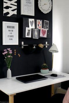 Home Office - neue Bilder aus dem Büro - Tulpentag. Der Blog #deko #interior…                                                                                                                                                                                 Mehr
