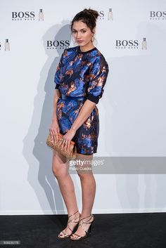 Michelle Calvo attends the 'Man of Today' campaign photocall at the. The Man, Dresses With Sleeves, Long Sleeve, Fashion, Long Sleeve Dresses, Jewels, Moda, Gowns With Sleeves, Fashion Styles