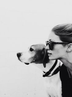 A good pair of shades and a dog is all you really need.