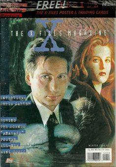 The X-Files magazine ~ Winter 1996 #1 ~**Deluxe « Library User Group