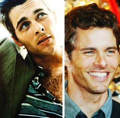 James Marsden how sesual and goofy you are. You'd be my number 1 if it wasn't for Leo & Ryan