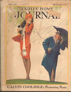 APRIL 1929 LADIES HOME JOURNAL magazine GREAT ADS