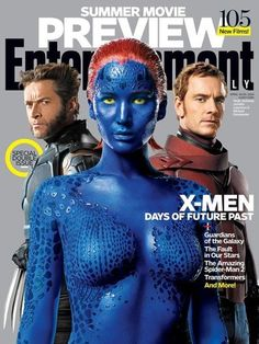 Nude Jennifer Lawrence, Rest of X-Men Cast Cover Entertainment Weekly
