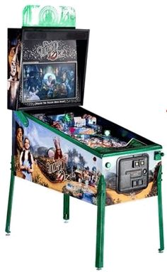 Wizard of Oz LE (Limited Edition) Emerald City Version Pinball Machine Video Game Rooms, Video Games, Flying Monkey, Arcade Machine, Emerald City, Wizard Of Oz, Arcade Games, Pinball Games, Pinball Wizard