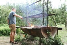 Camp Huckberry gets off the grid at Mendocino's Oz Farm, a former hippy colony-turned-organic farm with a storied past