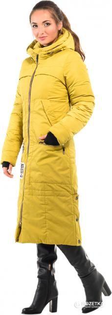 Пальто-пуховик Milhan 1711 40 Французская горчица (2000000030289)