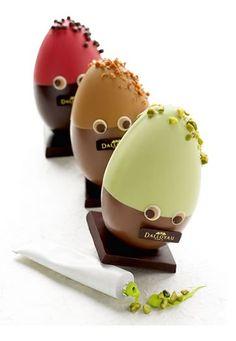 Dalloyau chocolate Easter eggs.