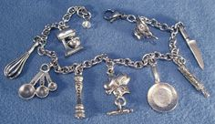 The Love to Cook Charm Bracelet is the Perfect Jewelry for Chefs - Foodista.com