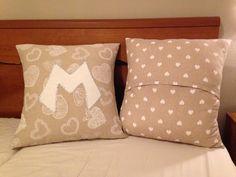 I CUSCINI PER CONIUGI In questa foto potete vedere anche il retro del cuscino