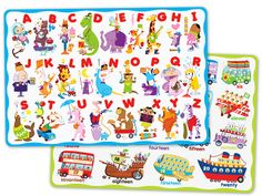 Little Learners Activity Placemats