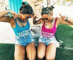Festival friends
