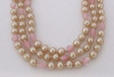 Excited to share the latest addition to my #etsy shop: Vintage Pink Pearl Multi Strand Choker // Mid-century Japan http://etsy.me/2BXELGQ #jewelry #necklace #pink #wedding #valentinesday #yes #women #hook #midcentury