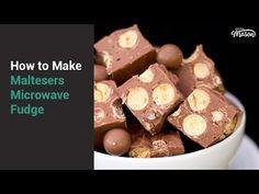 How to Make Microwave Maltesers Fudge Chocolate Fridge Cake, Chocolate Cookie Dough, White Chocolate Cookies, No Bake Treats, Yummy Treats, Sweet Treats, Fudge Recipes, Cake Recipes, Dessert Recipes