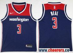 check out 5d47d 44e04 Men s Nike Washington Wizards  3 Bradley Beal Navy Blue NBA Swingman Jersey