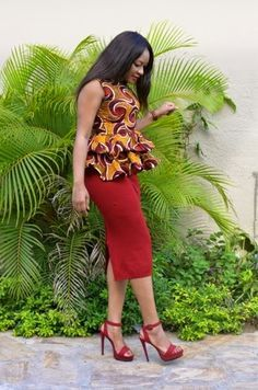 As we all know Ankara Fabrics is a very Unique African Print which has been very suit