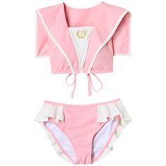 SAILOR BIKINI ❤ liked on Polyvore featuring swimwear, bikinis, bikini, underwear, sailor bikini, sailor swimwear, bikini swim wear, bikini swimwear and bikini two piece