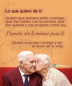 Quiero envejecer contigo
