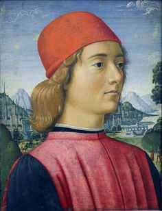 Davide Ghirlandaio - Portrait of a young man (1490)