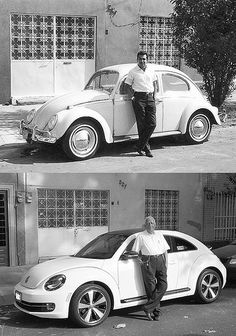 VW Beetle - Now and Then    If it ain't broke don't fix it!!! Way to destroy the beetle...