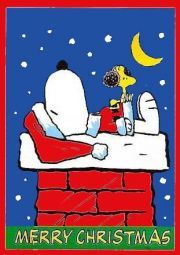 merry christmas snoopy and woodstock - Snoopy Merry Christmas Images
