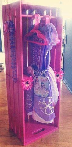 :: Crate dress up closet ::