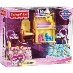 Fisher Price Loving Family Nursery; Need This Furniture Set To Complete  Millieu0027s House.