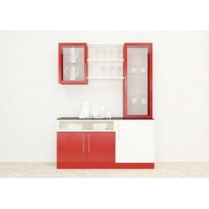 Crockery unit with great color combination adds a lovely look to the dining area. This unit consists cabinets and racks with glass and the wooden door that can fit in the essentials in an organized manner. This furniture gets the glowing effect to the room and turns the entire space with an delightful charm. Any modernized house will need a furniture like this to get an enlightened effect to the home.
