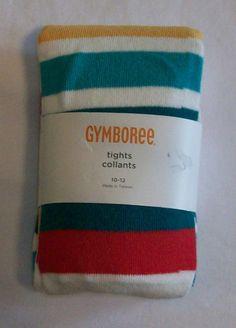 Girls sz 10-12 Gymboree Ready Dress Go Tights NWT #Gymboree #Tights