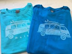 Boy or Girls Next Level Tshirt with VW by FrontStDesignsMaine