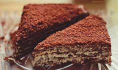 Marlenka - so delicious! Hungarian Recipes, Hungarian Food, Good Food, Yummy Food, Sweet And Salty, Cake Cookies, No Bake Cake, Cake Recipes, Food And Drink