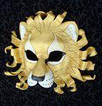 Gold Sun Lion Mask by *merimask on deviantART