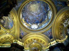 Capilla rea,l. Palacio Real de Madrid. Spain.