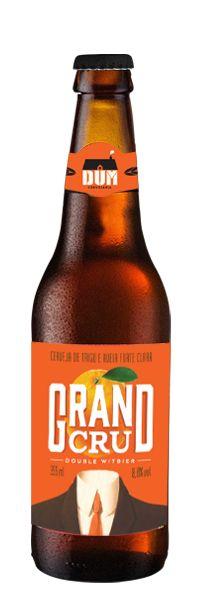 Cerveja DUM Grand Cru, estilo Witbier, produzida por DUM Cervejaria, Brasil. 8.8% ABV de álcool.