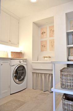 laundry room | velvet & linen