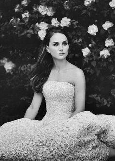 Natalie Portman for Dior.